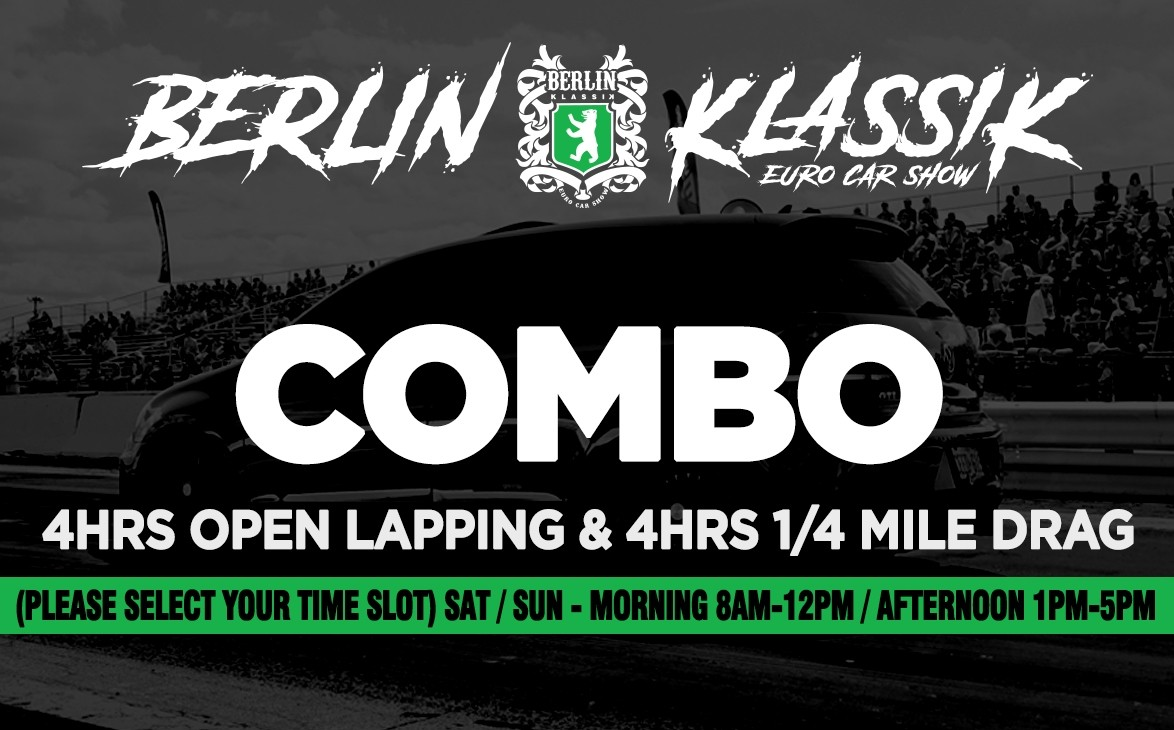 COMBO - 4HRS OPEN LAPPING & 4HRS 1/4 MILE DRAG