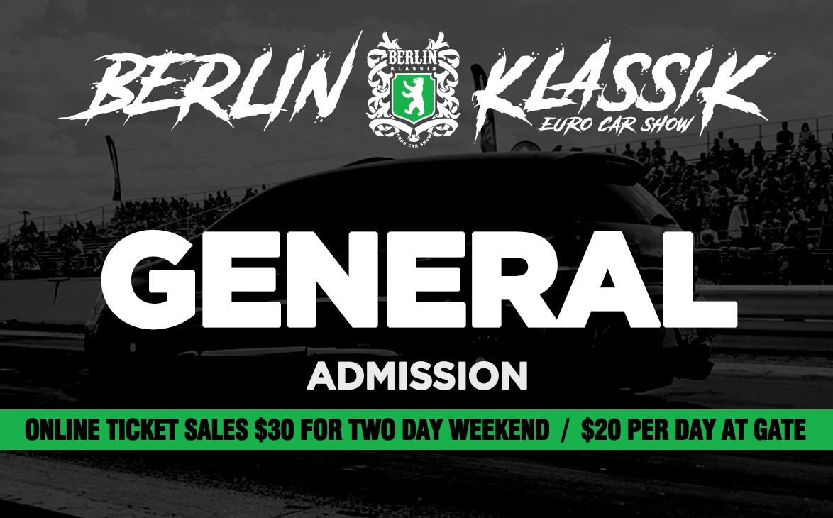 2 Day General Admission